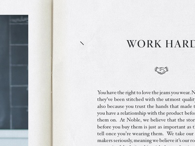 Noble Denim Look Book