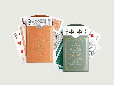 Desert Colors orange red green illustration art playingcards playing cards playing card