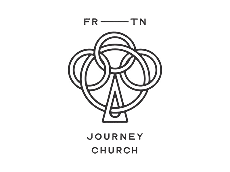 Journey Church mark logo trinity church icon