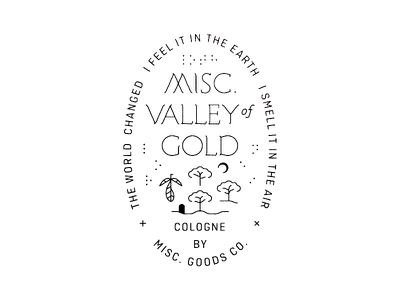 Valley of Gold art crest