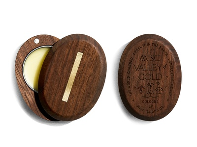 Valley of Gold engraved crest engraved