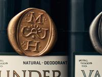 Natural Deodorant Wax Seal