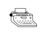 Royal Typewriter Icon