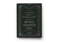 MGCO. Black Deck
