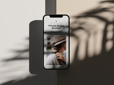 iPhone 12 Pro Mockup instagram social media 3d logo motion graphics ui user interface devices mobile display iphone 12 pro mockup