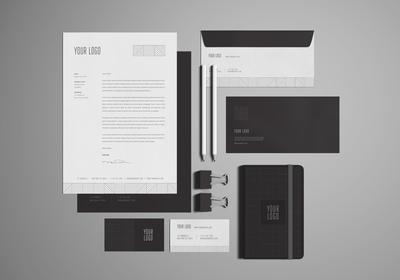 Free Stationary / Branding Mock-Ups