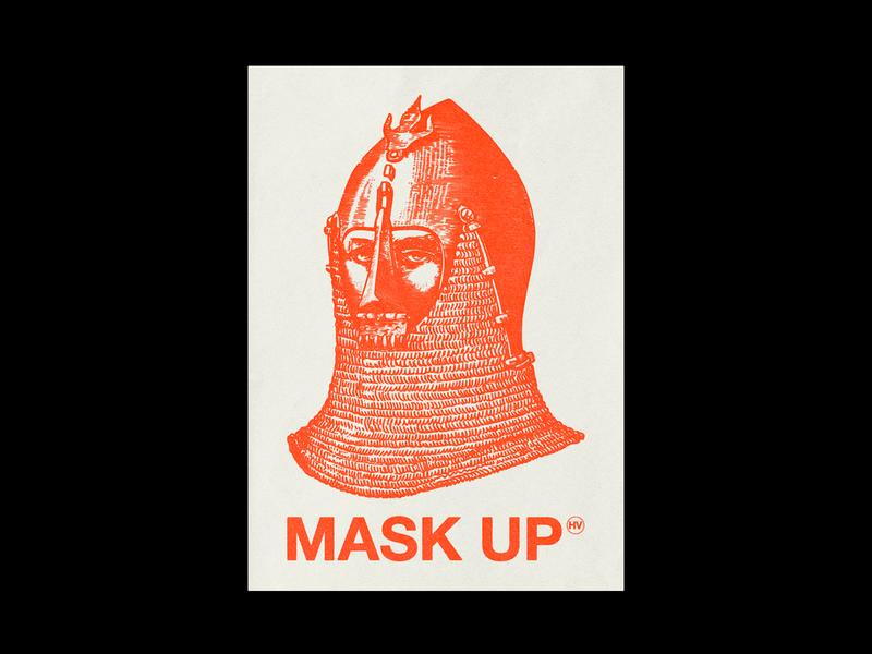 1/2 MASK UP ⒽⓋ
