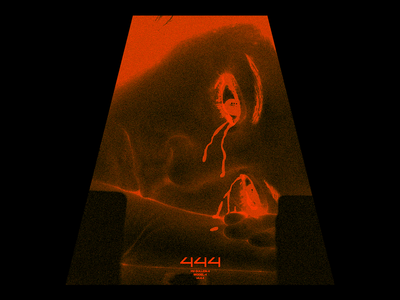 ᔰᔰᔰ (SULLEN-4) tears angel sad sullen mood gradient noise brutalism red minimal type graphic typography design
