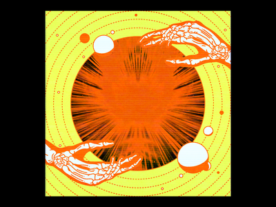 SOMATOSENSORY for Paco Rabanne mock-up cathode tape vintage vcr tv future paco rabanne red illustration minimal type typography graphic design