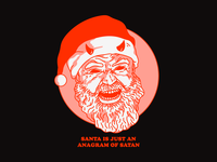 Santa is just an anagram of Satan