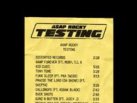 106 testing receipt106 a