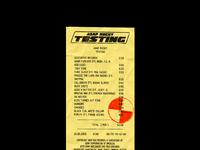 106 testing receipt106