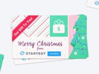 Unused Christmas Card idea