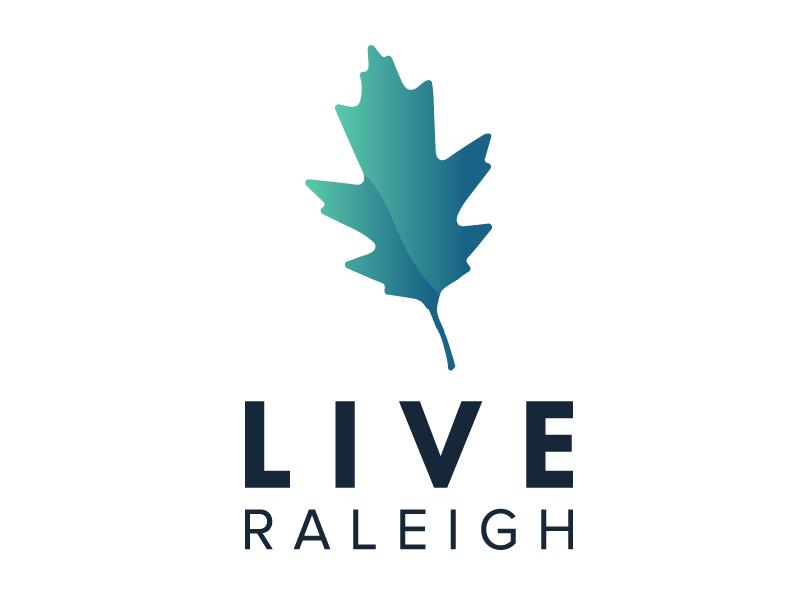 Live Raleigh Realty real estate branding logo