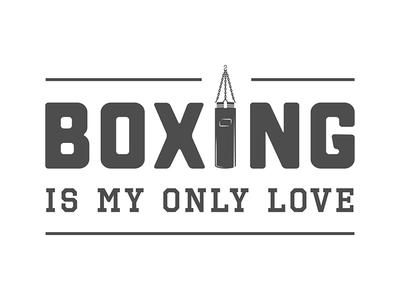 Boxing poster sportsman warrior fight love martial arts boxing active print sport poster emblem logo