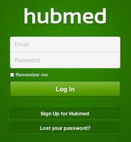 Hubmed - Login page