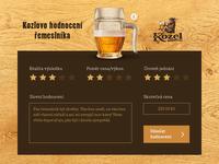 Kozel's Craftsmen Rating