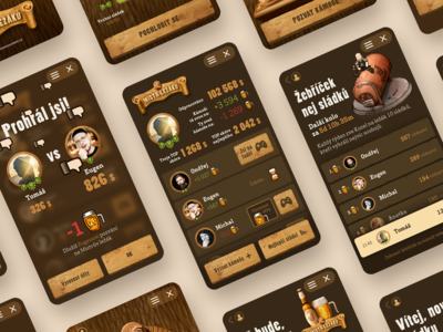 Master of Lagers UI/UX