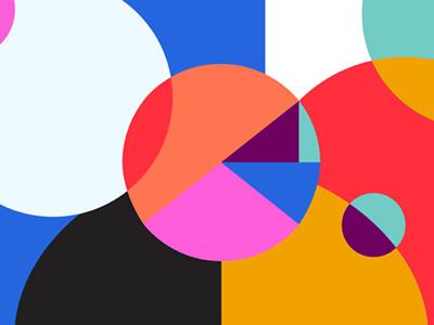 Kaleidoscope illustration shapes circles colors kaleidoscope