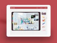 Digital Travel Journal Interface