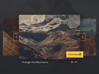Image Slider PSD Freebie