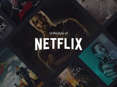 Netflix player video dark ui restyle netflix