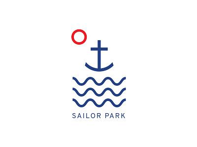 Sailor Park identity branding brand logo