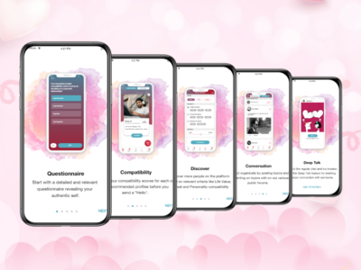 Dating App_Walkthrough Screens