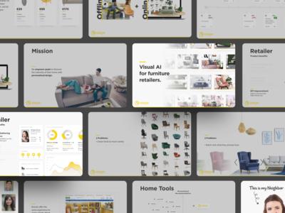 Startup presentation design