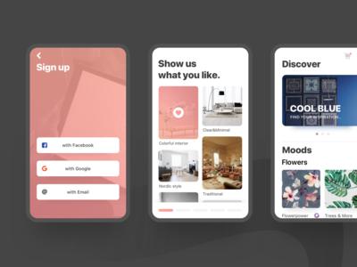 AR app design