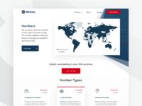 Product page - Telecommunication company