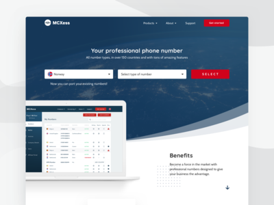 Homepage - Telecommunication company