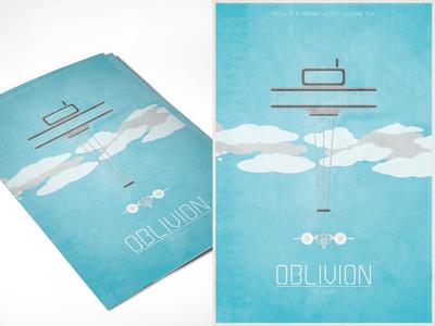 Oblivion Minimal Poster Design
