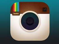 Instagram icon iOS 7-ified version