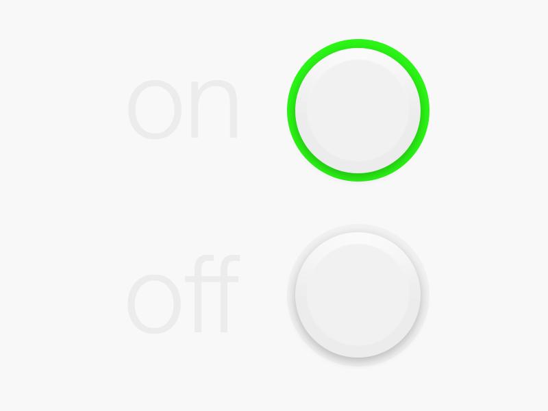 on off switch by shankar
