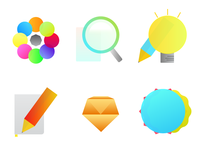 Design Process Icons