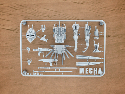 Mechine parts assembly