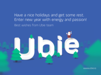 Best wishes from Ubie