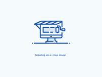 E-Shop Design icon