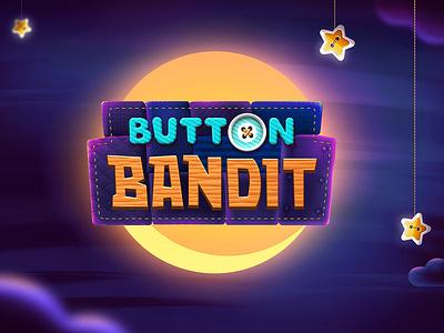 Button Bandit  / mobile game game art game logo mobile game bandit button level design illustration
