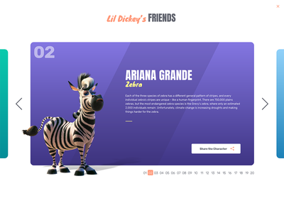 Earth Song Web flat design leonardo dicaprio ariana grande justin bieber celebrities web design animation planet earth lil dicky earth song earth day