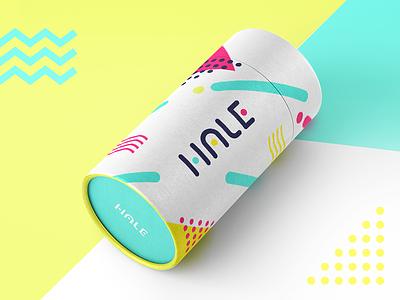 Raining Hale vape pen box design branding design animation medical device packaging vaporizer hale
