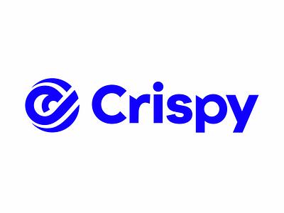 Crispy Logo abstact graphic  design symbol mark crispy vector branding identity