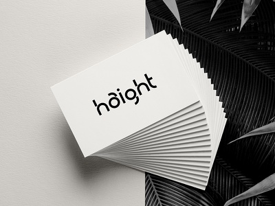 Haight these Cards bw geometric cards identity branding
