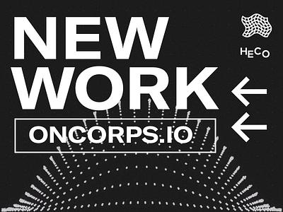 Oncorps webdesigner new work javascript animation website webdesign
