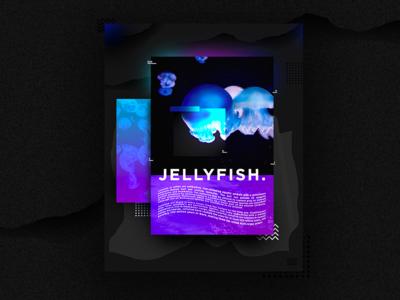 Poster Jellyfish   0A-Z1 Studio 🌊