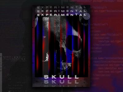 Experimental 04.   Skull 💀