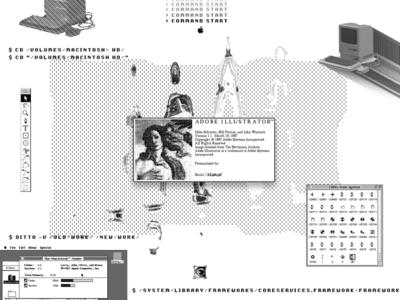 Experimental 05.   Illustrator v1.1 💾
