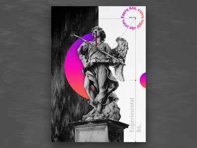 Experimental 06.   Sad Statue 💧