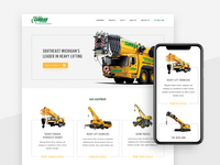 Construction Equipment Website